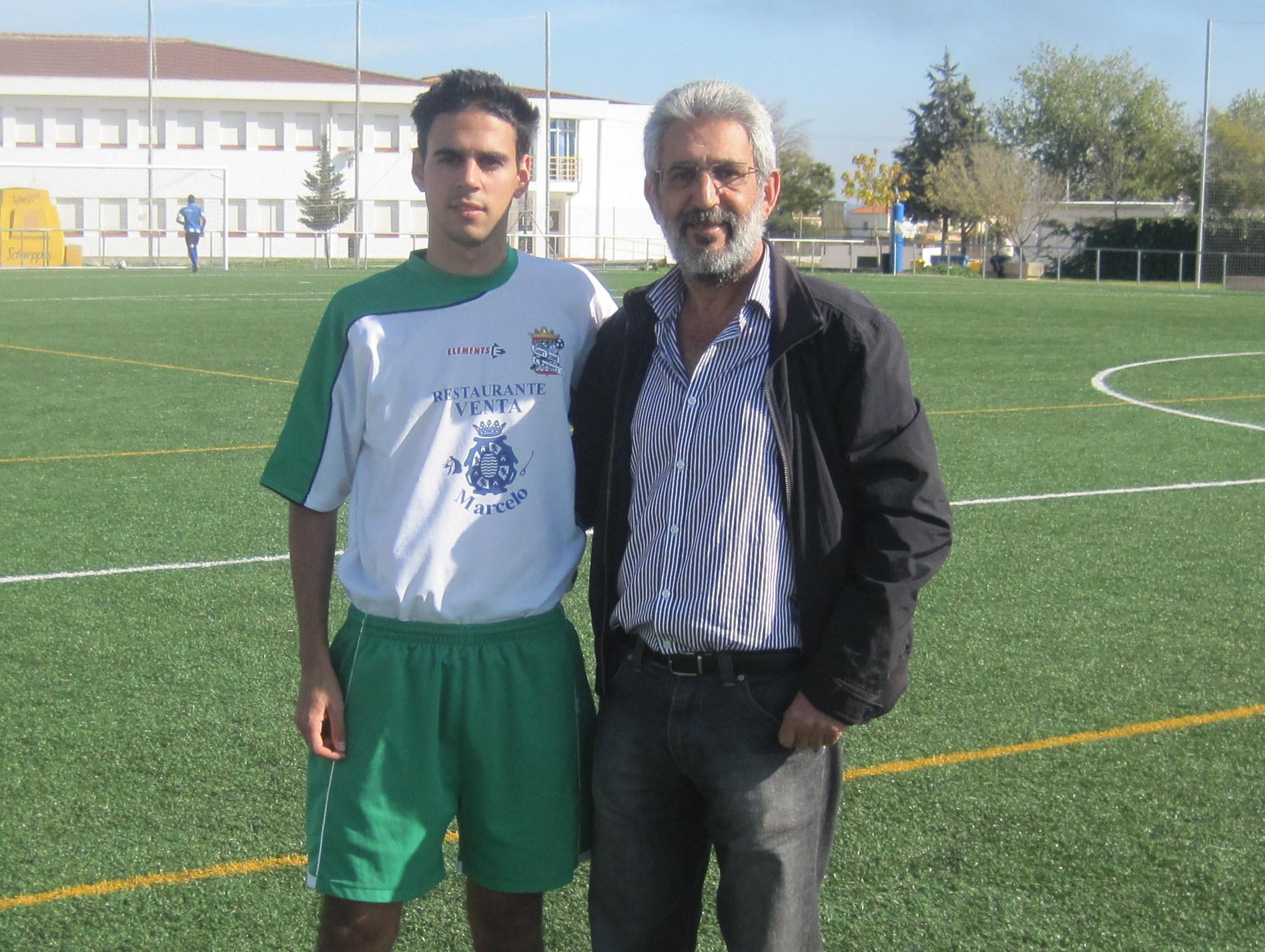 El presidente con su hijo, Fernando