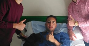 Rubio en el hospital